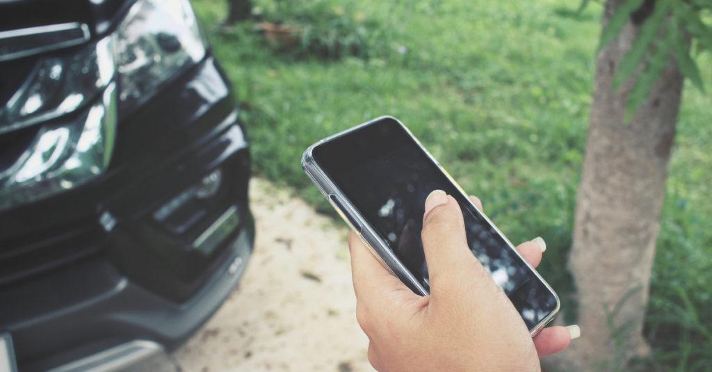 phone by car