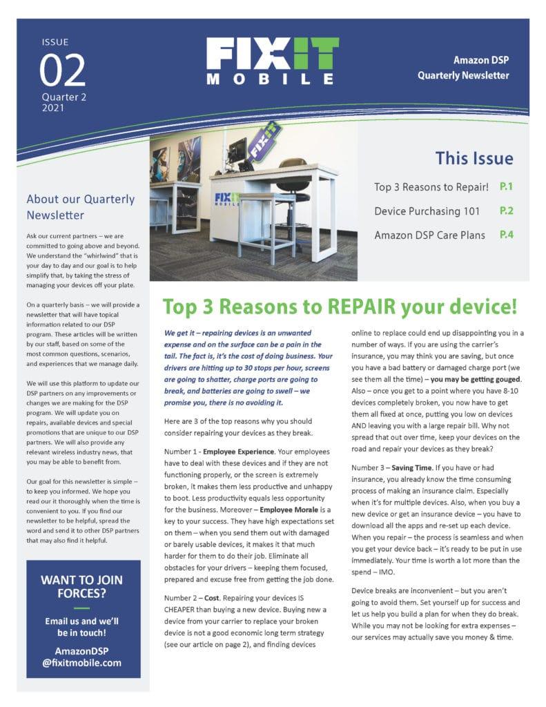 Amazon DSP Newsletter - Volume 2_Page_1