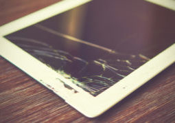 tablet screen crack types risks